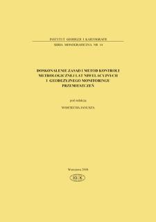Doskonalenie zasad i metod kontroli metrologicznej łat niwelacyjnych i geodezyjnego monitoringu przemieszczeń