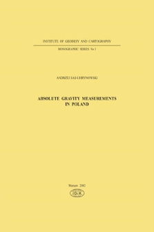 Absolute gravity measurements in Poland