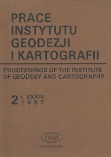 Wyznaczenie zmiany wiekowej magnetycznego pola Ziemi na Bałtyku w interwale 1982-1985