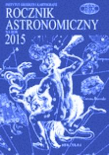 Rocznik Astronomiczny na rok 2015