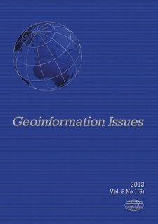 Geoinformation Issues 2013 - introduction