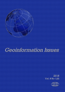 Geoinformation Issues 2016 Vol. 8 No 1(8) - introduction