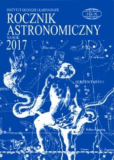 Rocznik Astronomiczny na rok 2017