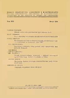 Metody cechowania grawimetrów typu Askania Gs-11