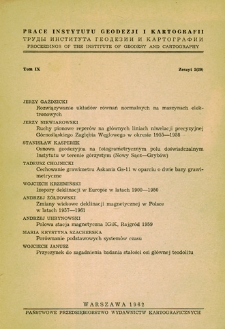 Polowa stacja magnetyczna IGiK, Rajgród 1959