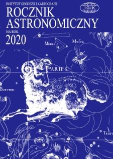 Rocznik Astronomiczny na rok 2020