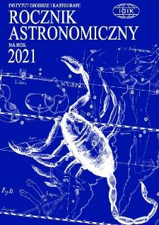 Rocznik Astronomiczny na rok 2021
