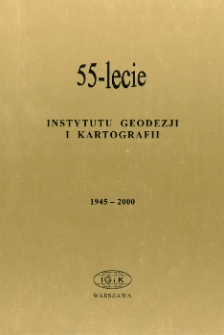 Skład Rady Naukowej Instytutu Geodezji i Kartografii na kadencję 1999-2003